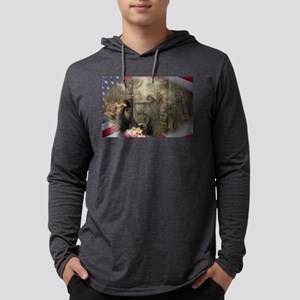 Vietnam Veterans Memorial Mens Hooded Shirt